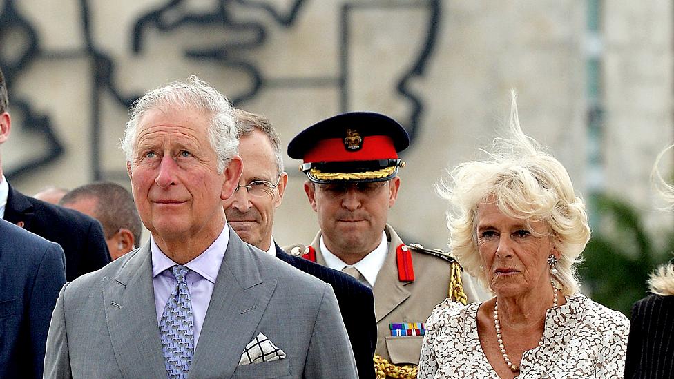 Princ Čarls i Kamila na Kubi