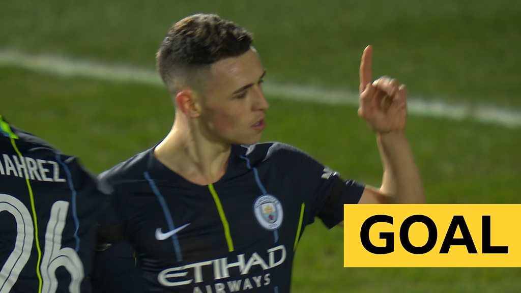 FA Cup: Phil Foden's brilliant finish ends Newport's hopes of a late comeback.