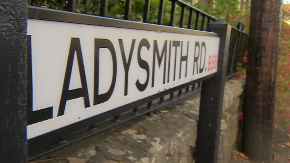 Ladysmith Road sign