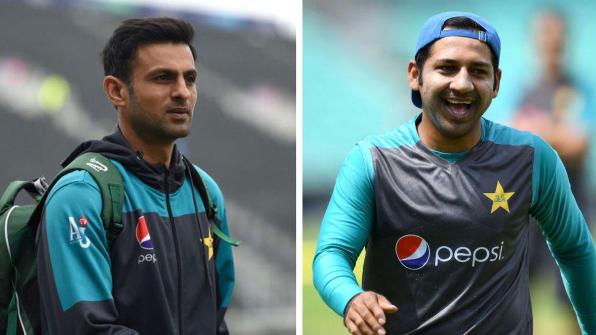 भारत- पाक मैच: पाकिस्तान में निशाने पर शोएब मलिक, शोएब अख़्तर ने कप्तान सरफ़राज़ को कहा ब्रेनलेस