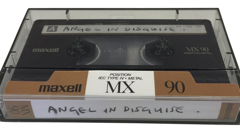 Angel in Disguise cassette tape