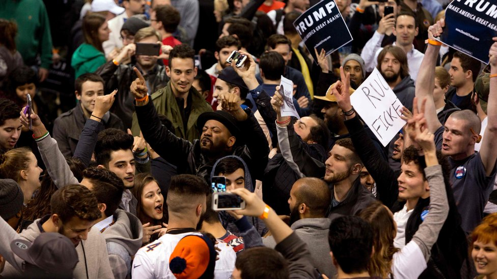 Chicago Trump Rally