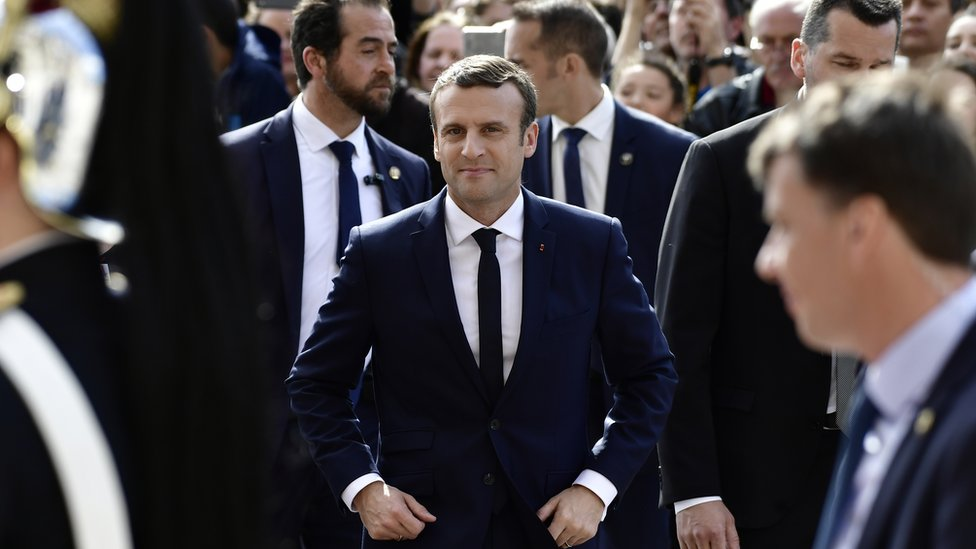 Macron Who S Who In The French President S Team Bbc News