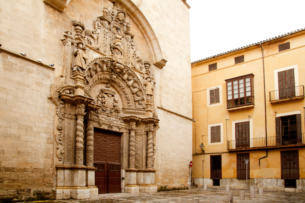 Palma's Mont Zion church was once a synagogue