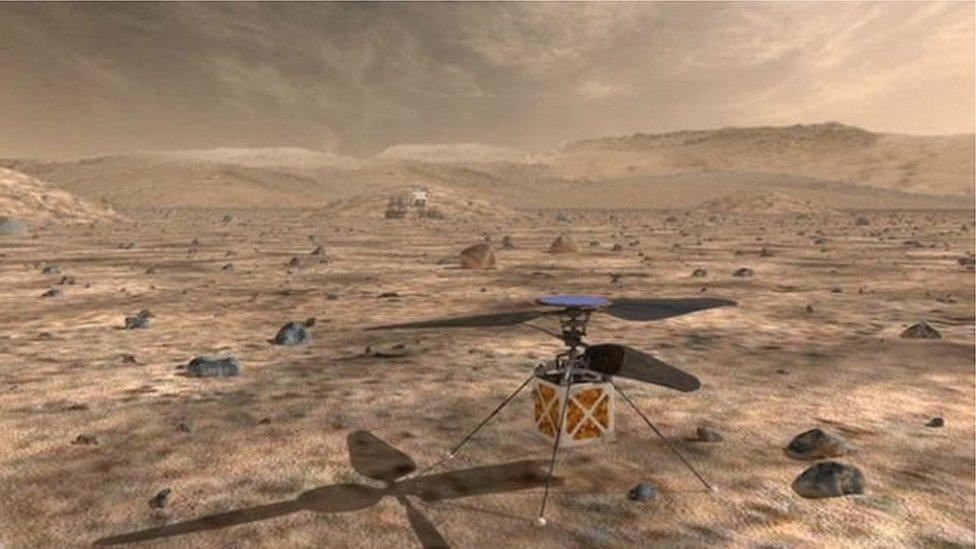 NASA вперше запустить на Марс вертоліт