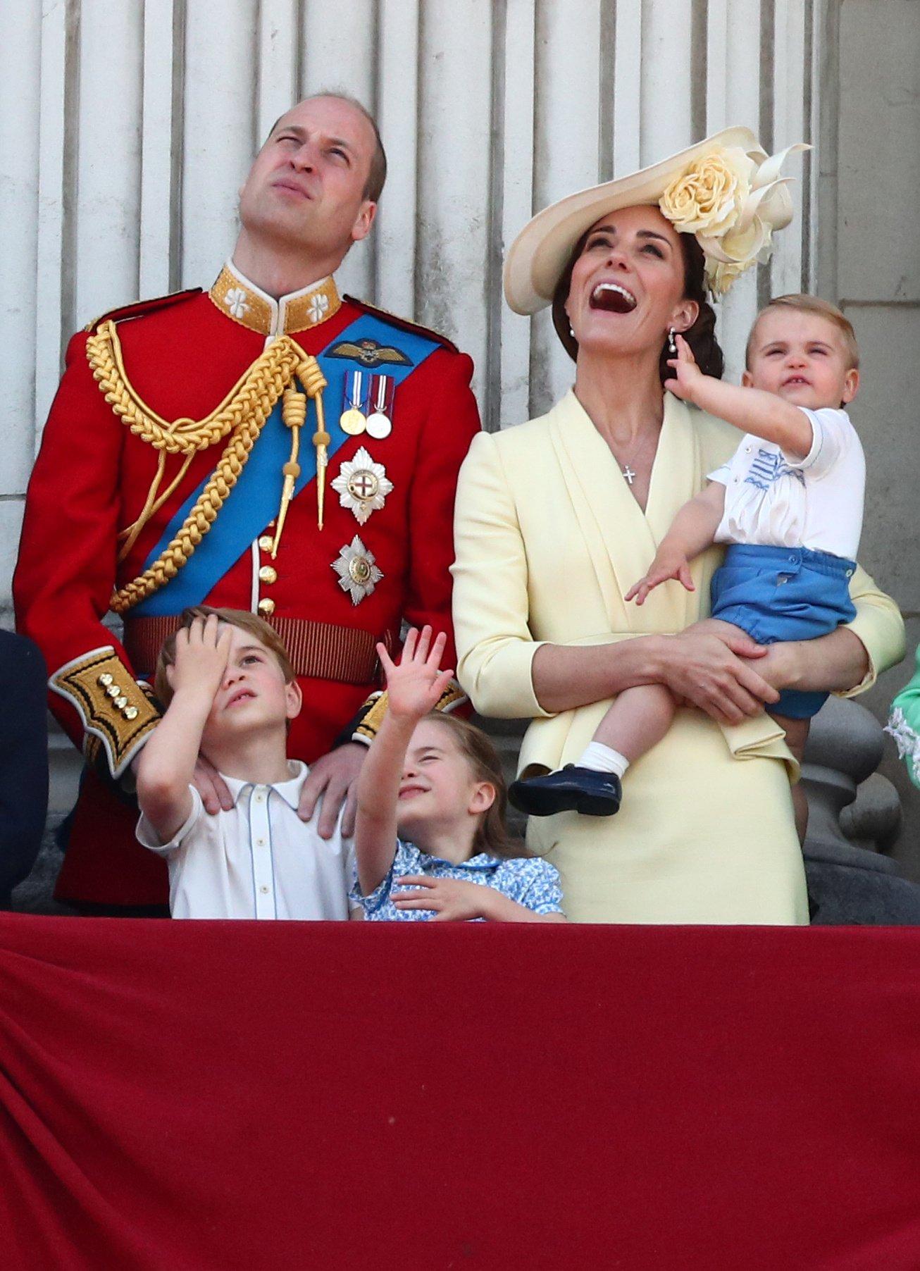 Vojvoda i vojvotkinja od Saseksa sa decom