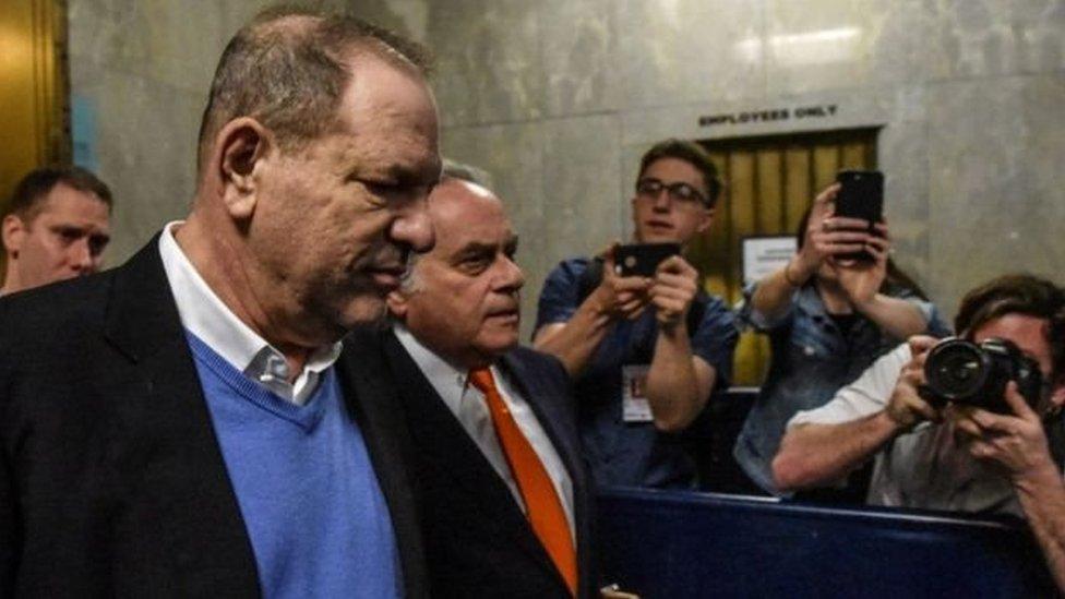 هارفي واينستين في المحكمة