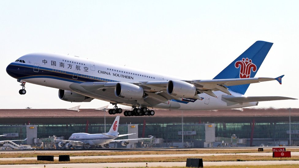 Un avión de China Southern