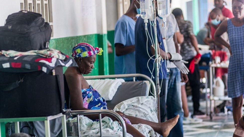 hospitales en haiti