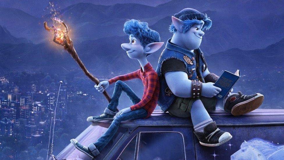 Afbeeldingsresultaat voor Onward pixar