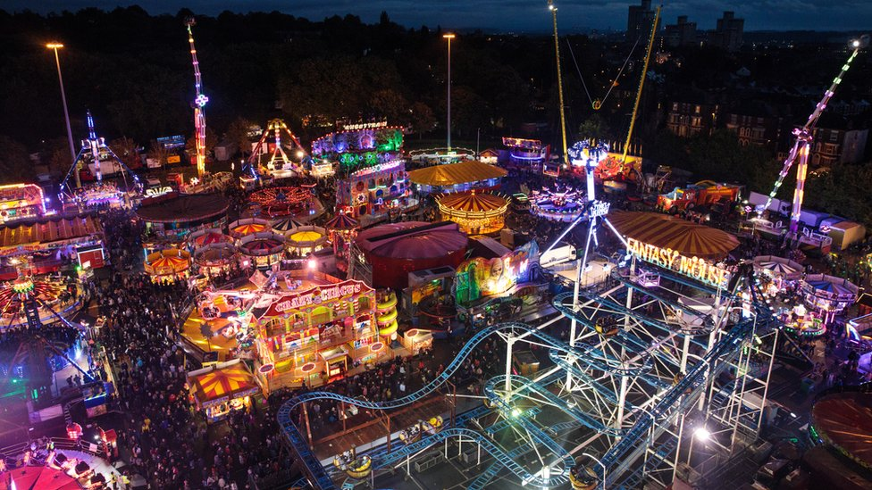 Goose Fair from 2017