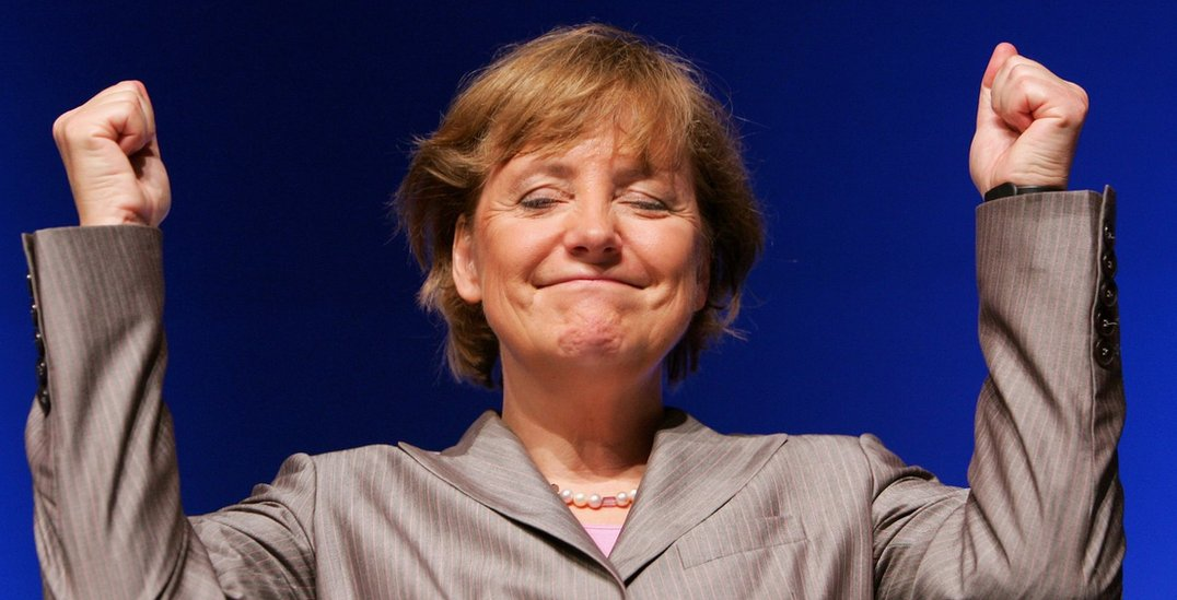 Angela Merkel na čelu Hrišćanske demokratske stranke