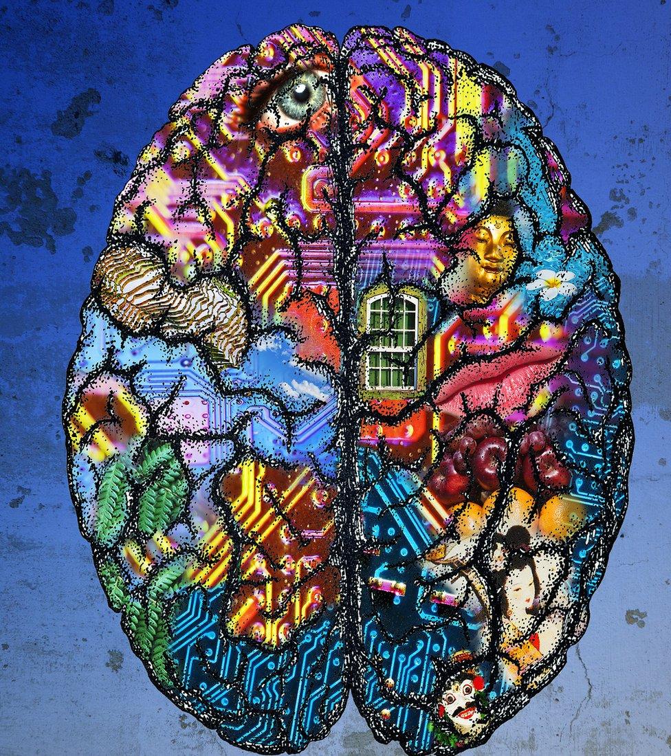 cerebro con dibujos