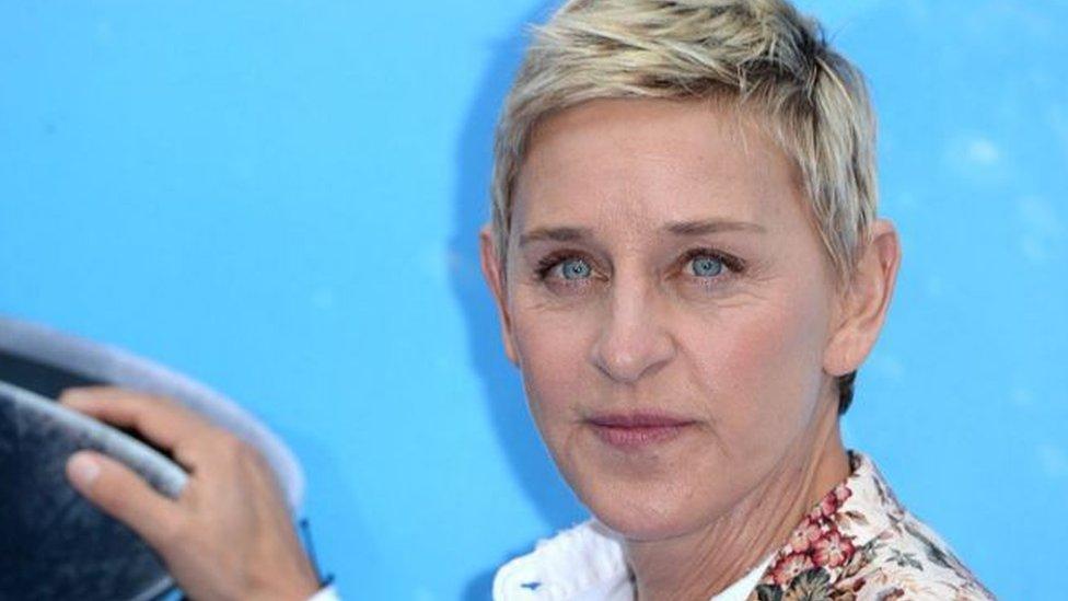 DeGeneres şovunu 'birbirine karşı iyi ve saygılı olma' ilkesi üzerine kurmuştu