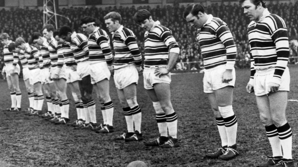 Hull FC pay tribute at the Boulevard