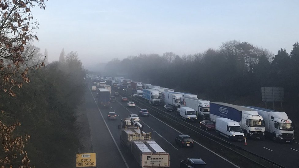 Staffordshire Police criticise M6 traffic complaints after fatal crash
