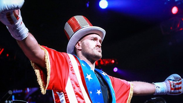 'I put on a good show' - clinical Fury stops Schwarz in second round