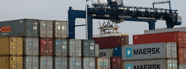 Containers, Port of Felixstowe