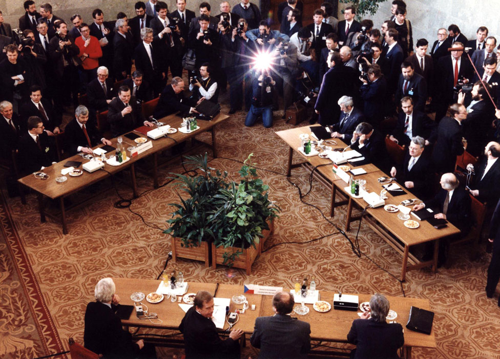 Visegrad meeting in February 1991