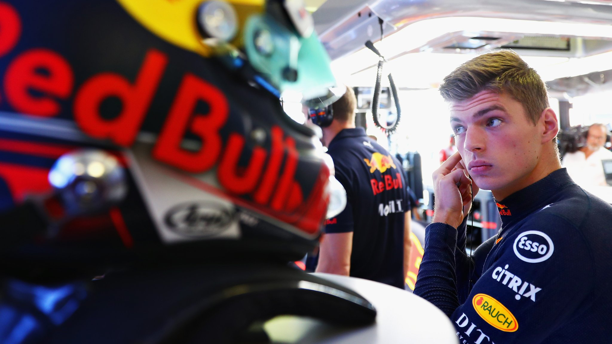 Verstappen fastest in second practice for German GP
