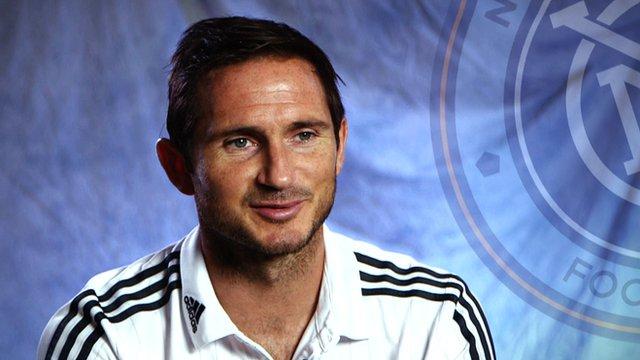New York City FC midfielder Frank Lampard