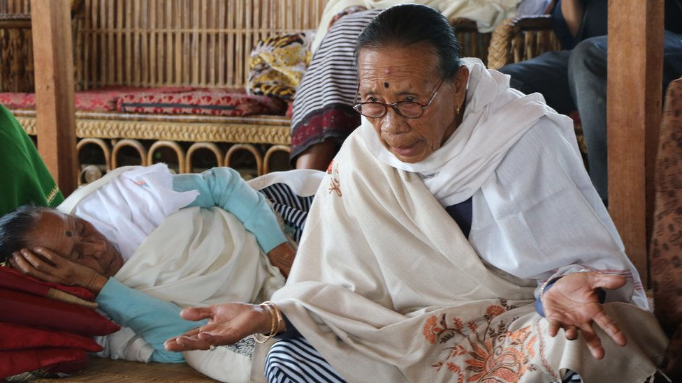 The oldest was 73-year-old Thokchom Ramani