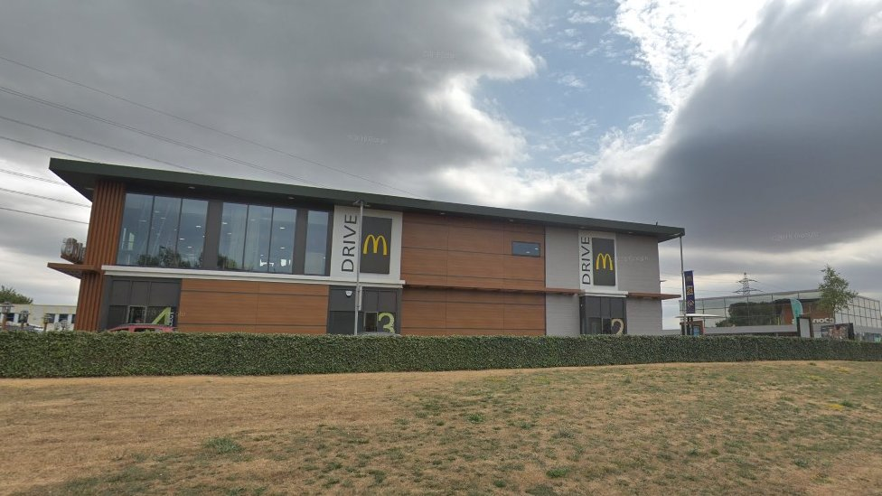 Three drugs arrests at Swindon McDonald's drive-thru