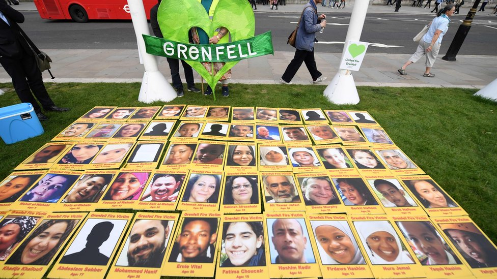Pictures of victims of the Grenfell Tower fire