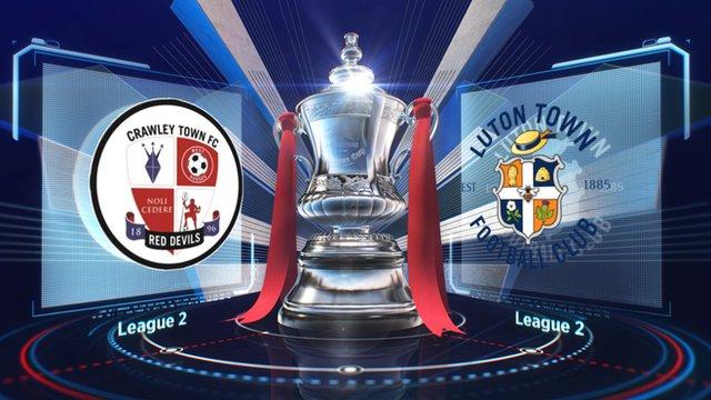 Crawley 1-2 Luton