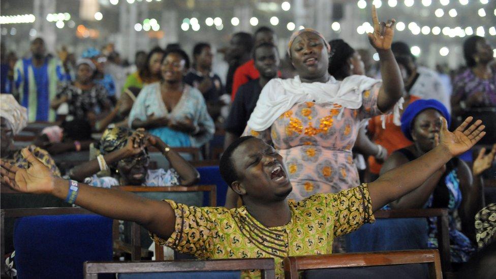 Worshipers at RCCG