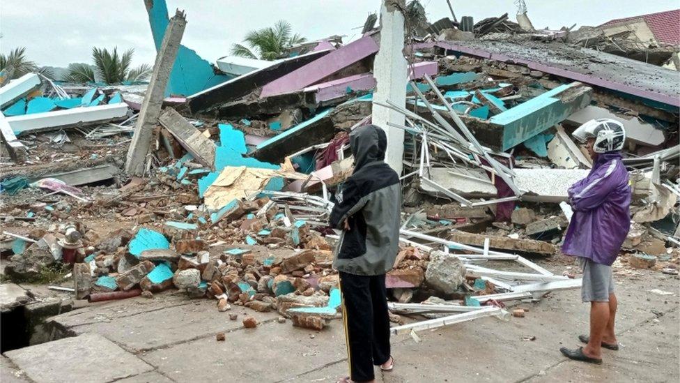 srušena zgrada