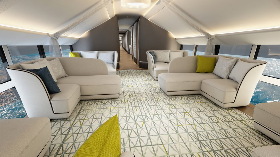 The Infinity Lounge on the Airlander