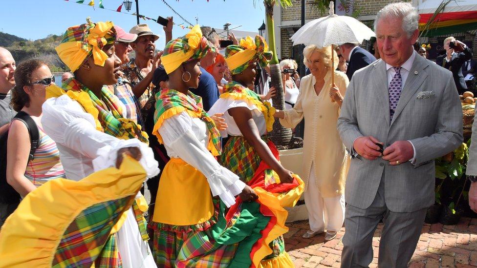 Pre Kube, kraljevski par posetio je Grenadu