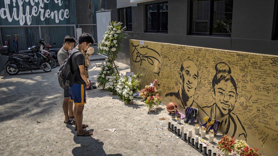 Fanovi odaju počast Kobiju i na Filipinima