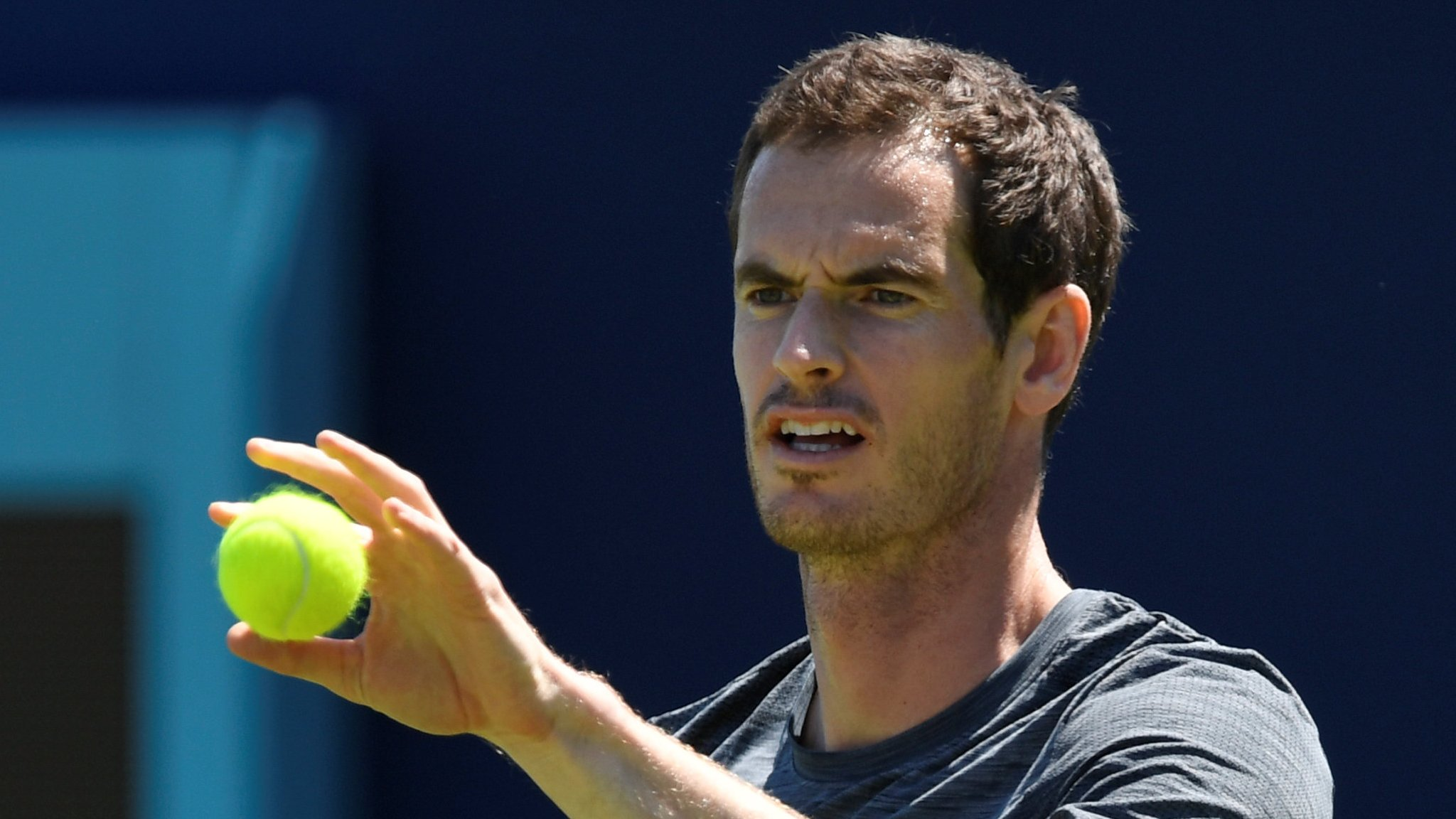 Queen's Club: Andy Murray says his injury return against Nick Kyrgios 'is not about winning'