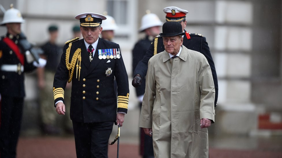 Prince Philip at last solo engagement in August 2017