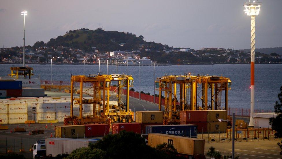 Pelabuhan Auckland