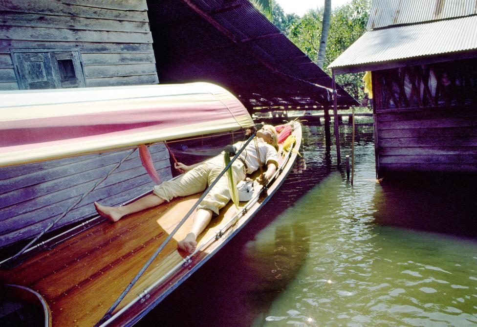 Dejvid Bouvi odmara u Bangkoku