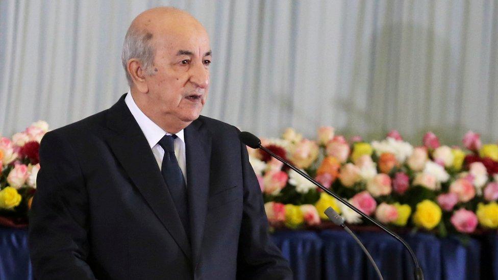 الرئيس الجزائري دخل في عزل صحي ذاتي منذ أيام