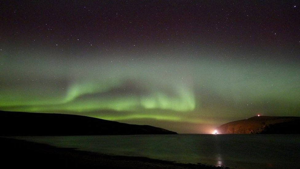 Northern Lights at Unst