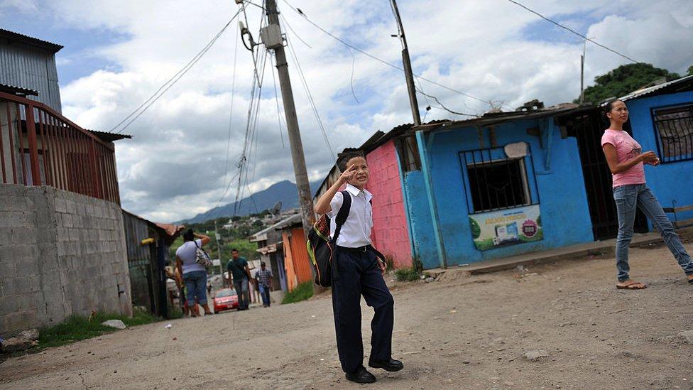 Escolar costarricense