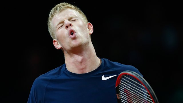 Davis Cup: Kyle Edmund loses despite two-set lead