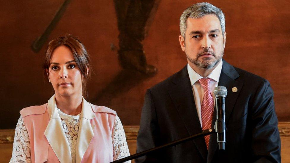 Mario Abdó y Silvana López Moreira