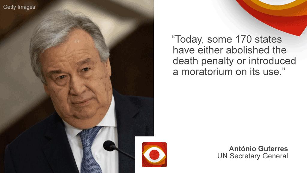 Antonio Guterres, UN secretary general