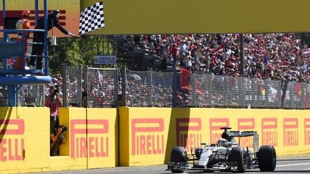 Lewis Hamilton wins the Italian GP