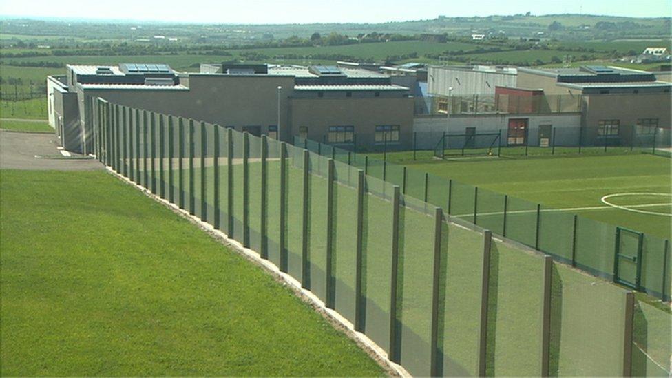 Oberstown children detention campus in north County Dublin