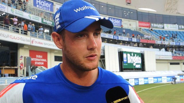 England's 'really good day' cheers Stuart Broad