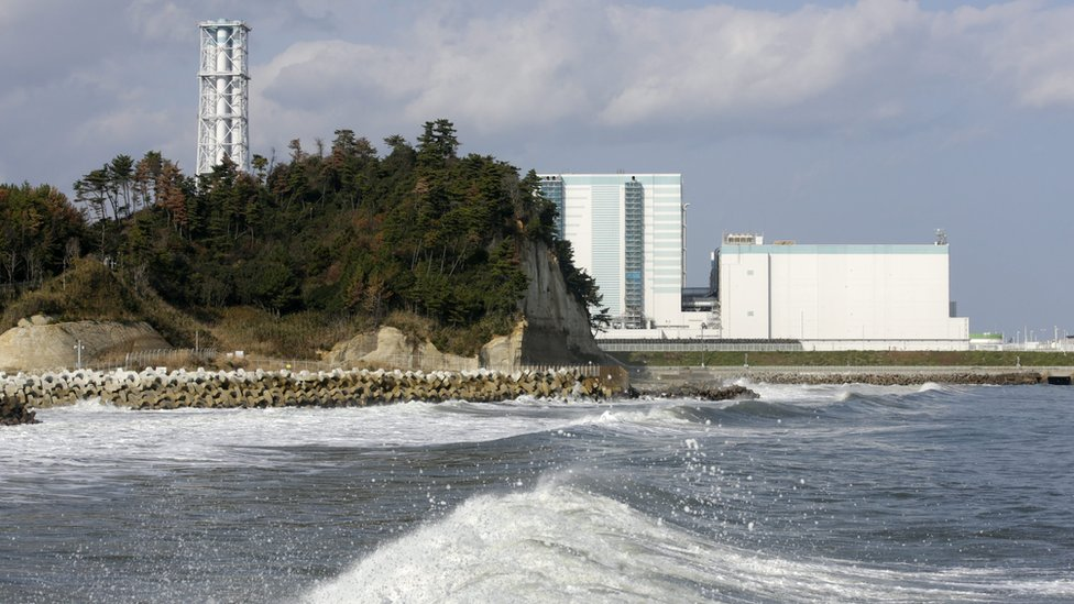 "Tokyo Electric Power Company""s Fukushima Daini Nuclear Power Plant is seen in Naraha town, Fukushima Prefecture, Japan, 22 November 2016"