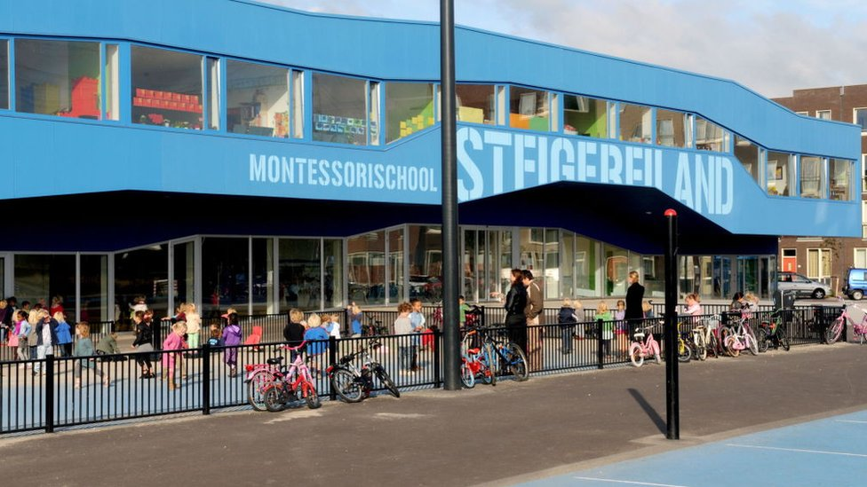 Montessori School in Amsterdam.