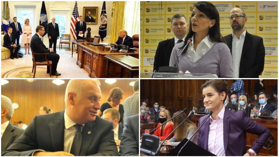Vučić, Tepić, Vesić, Brnabić